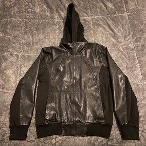 Men's Leather Guess Jacket